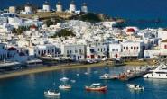 Цикладски острови - Санторини Парос Наксос Микoнос -8 дни - самолет