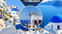 Круиз Пет Гръцки острова 2017 - Санторини, Миконос, Родос, Патмос, Крит и Турция - 5дни пълен пансион!